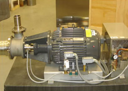 High Shear Dispersion Grinder Pump