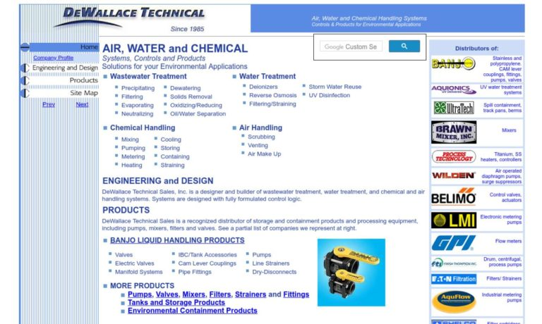 DeWallace Technical Sales, Inc.