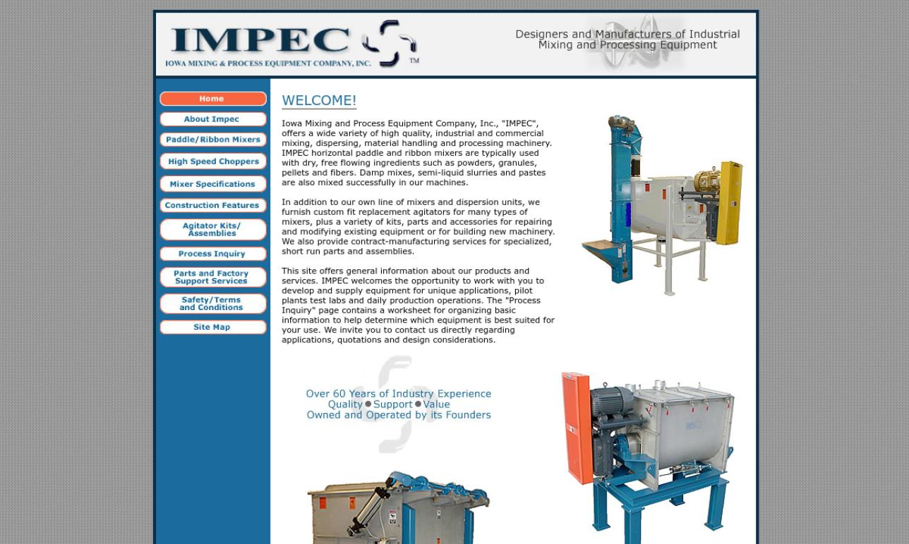 IMPEC/Iowa Mixing & Process Equipment Co
