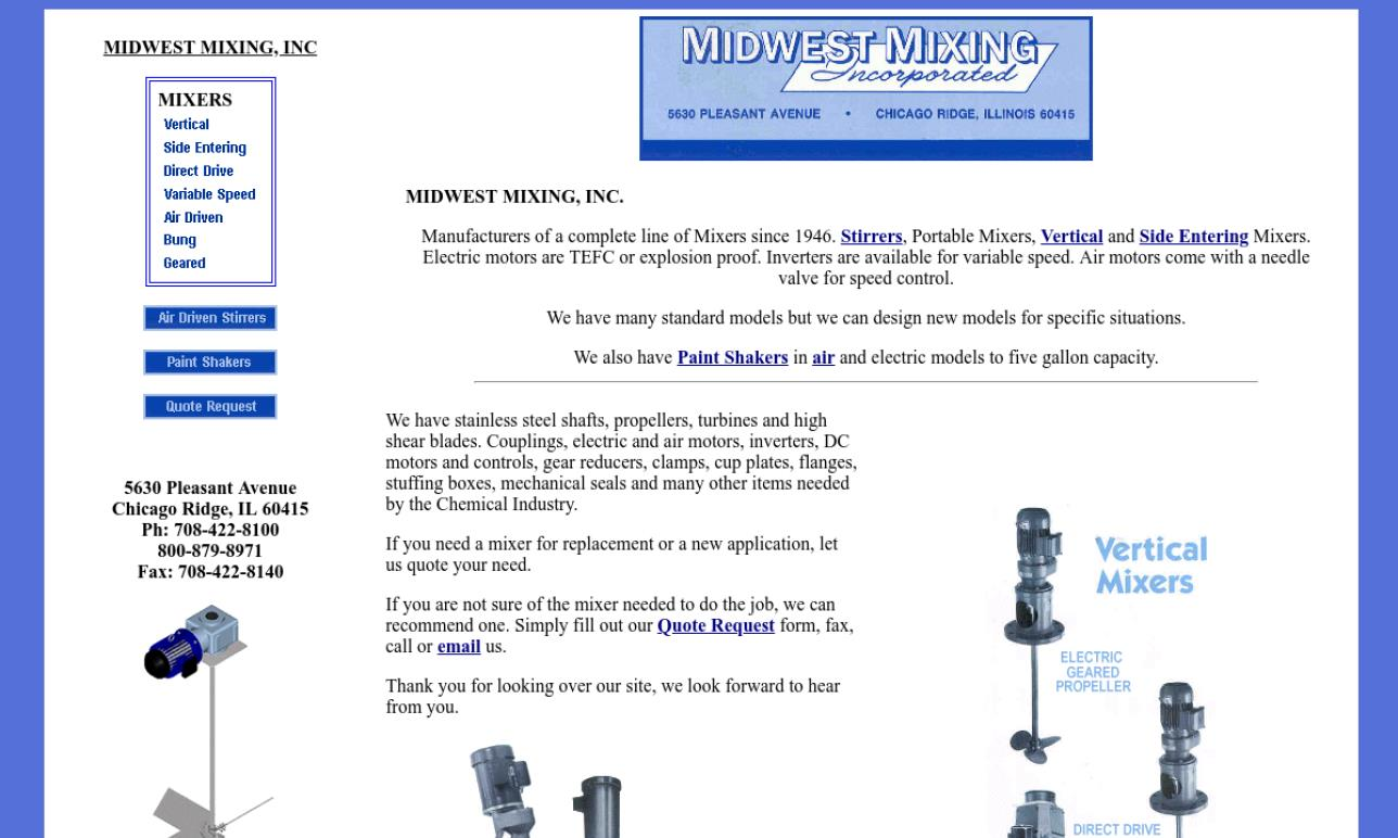 Midwest Mixing, Inc.