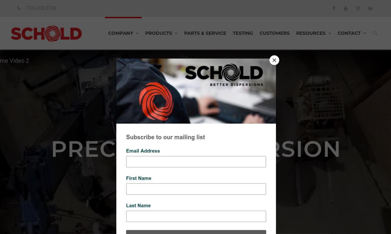 Schold® Machine Corporation