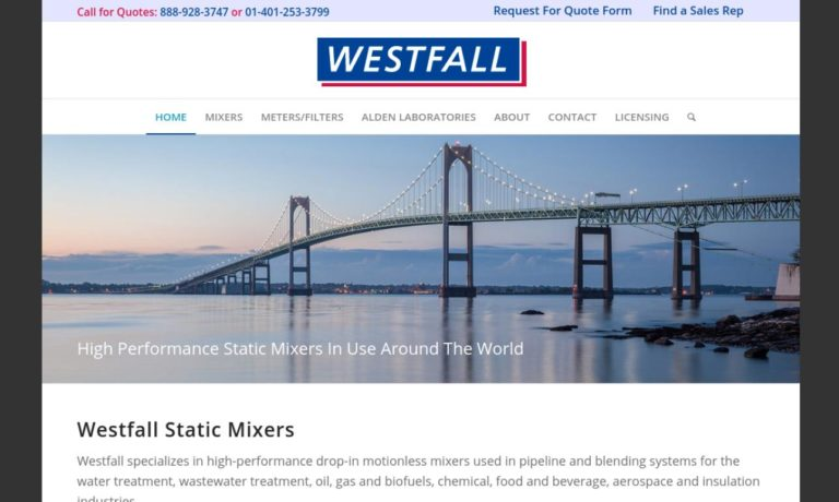 Westfall Manufacturing Company